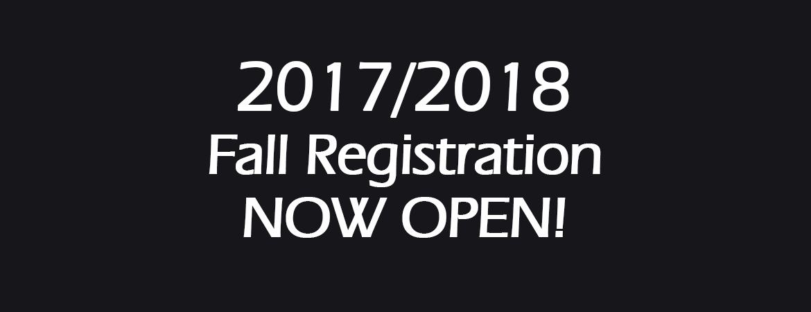 CDDS Fall Registration Now Open