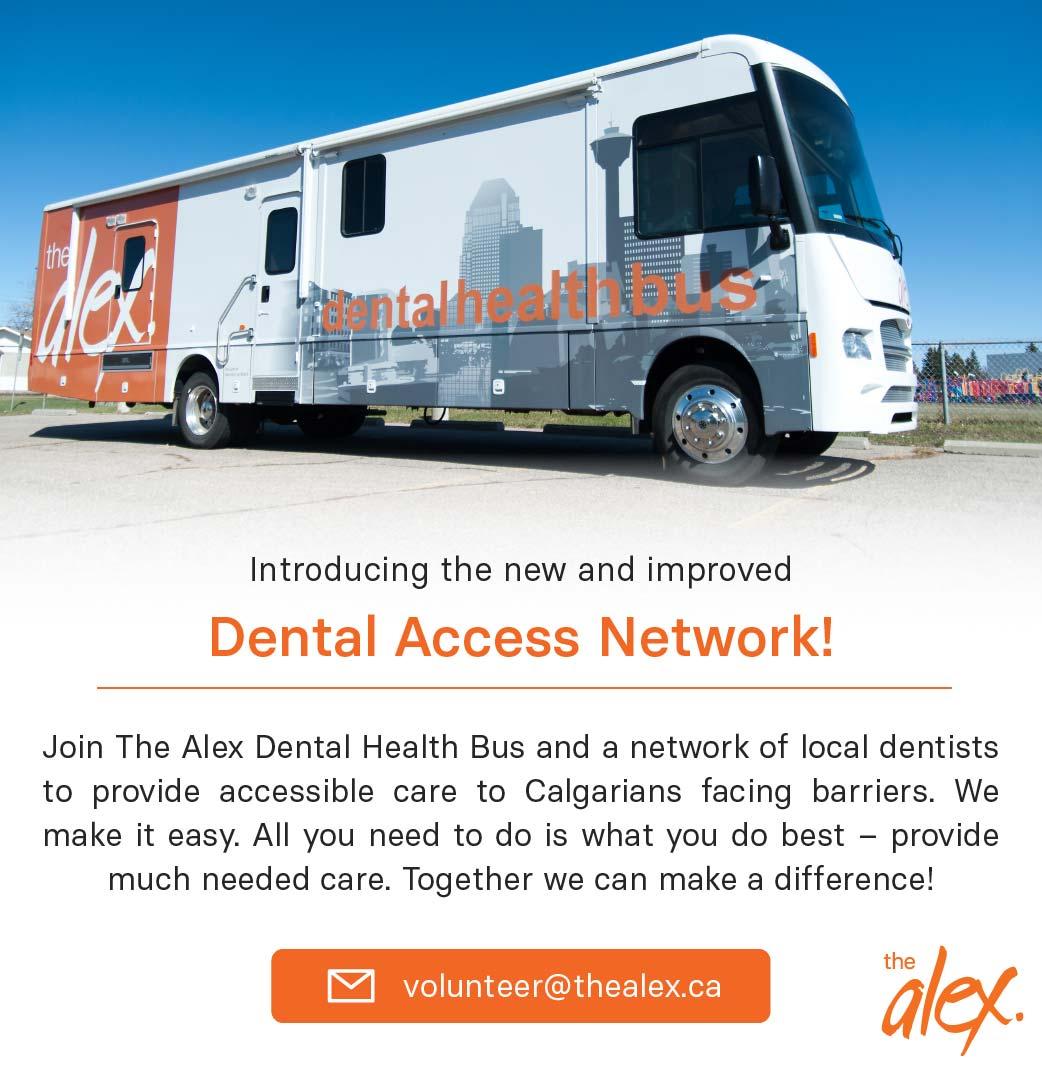 Dental Access Network The Alex Bus